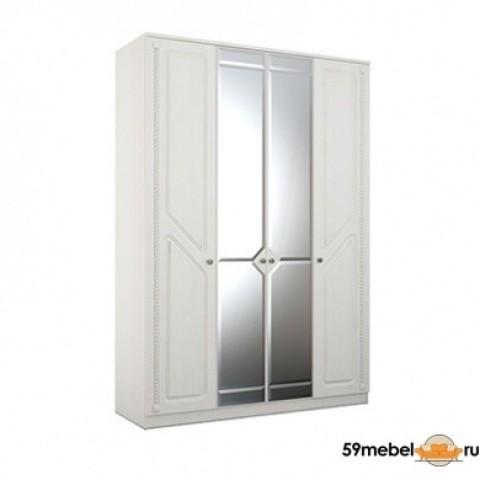 Шкаф 4-х створчатый Азалия МДФ 24