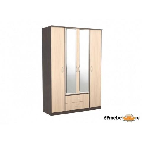 Шкаф 4-створчатый Карина