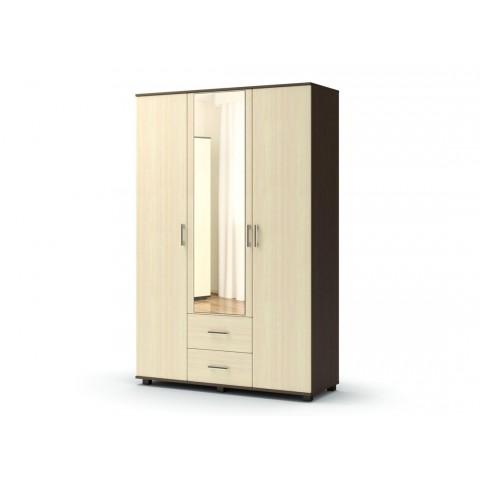 Шкаф Максим 3х створчатый с ящиками