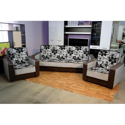 Набор мягкой мебели Элегия-2:  диван + два кресла