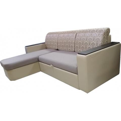 Диван угловой Лидер ДУ (формовые подушки)