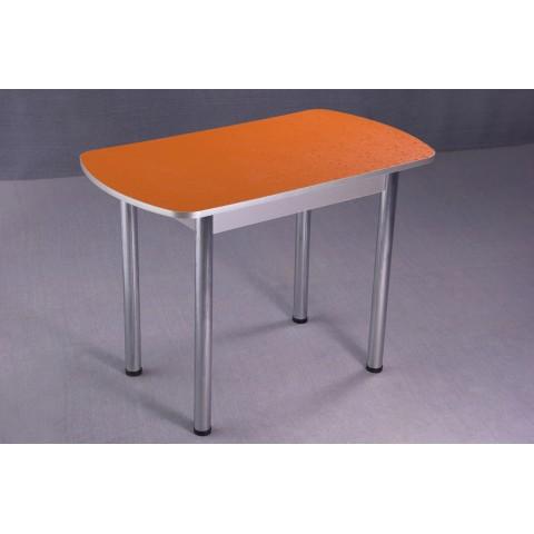 Стол обеденный 1000х600, 16 мм, хром