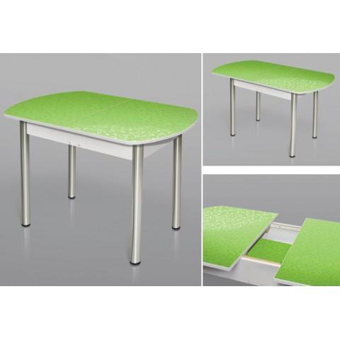 Стол универсальный раздвижной 1200х700, 16 мм, хром