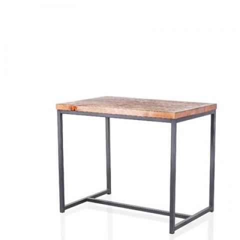 Стол обеденный Лофт 800х800, столешница 25 мм