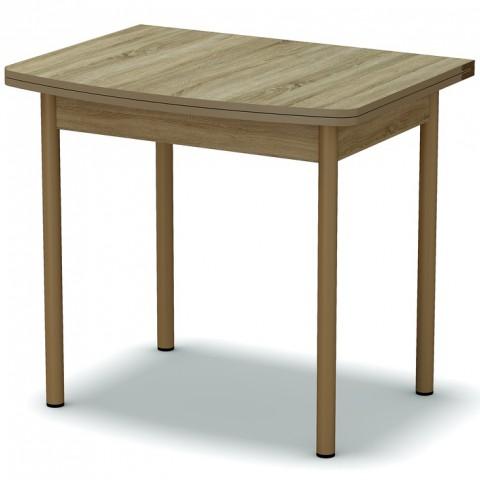 Стол обеденный раскладной закругленный