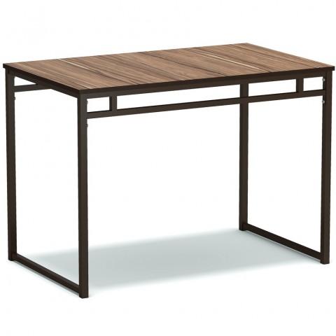 Стол обеденный большой на металлокаркасе