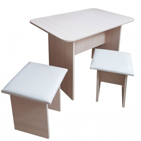 Стол кухонный с табуретами (комплект)