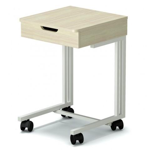 Столик мобильный с ящиком