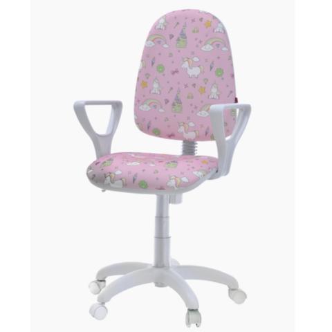 Кресло компьютерное Престиж Kids White