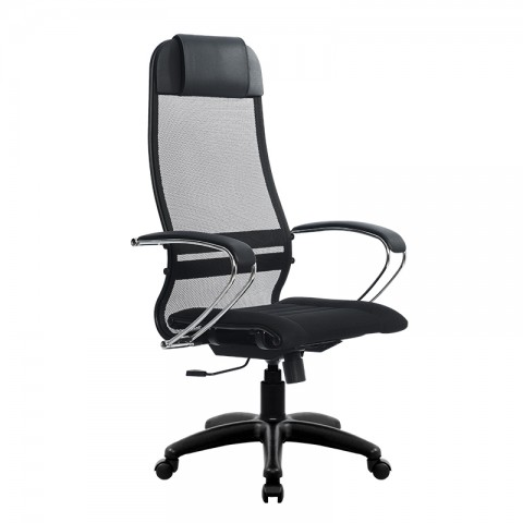 Кресло компьютерное SU-1МЕТТА комплект 1 пластик