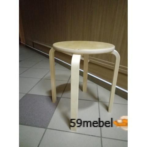 Табурет деревянный круглый