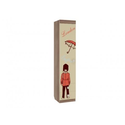 Шкаф комбинированный Челси 1-створчатый